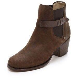 Rag & Bone Durham brown black boots size 9